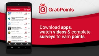 How To Earn Money From Mobile/PC Easily for FREE  Using GrabPoints Bangla tips