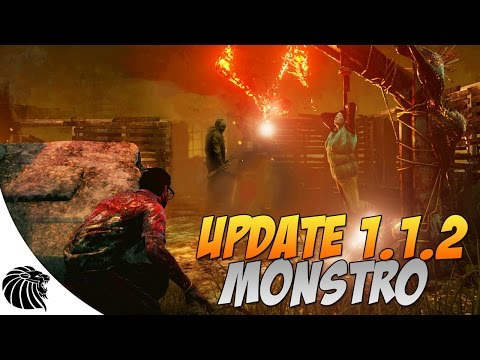 UPDATE 1.1.2 MONSTRO -  DEAD BY DAYLIGHT GAMEPLAY (PUBLIC TEST)