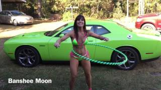 SWEET 50 YEAR OLD MOTHER! FARM GIRL, her challenger RT Plus, hula hoop and pink heels!