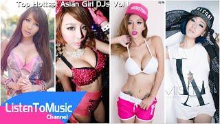 Top Hottest Asian Girl DJs Vol 1 - DJ Tenashar, Alyshia, Leng Yein and Jerryca Misty