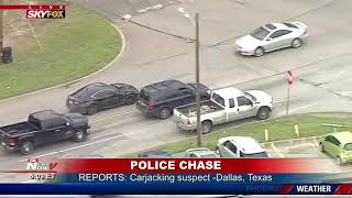 WATCH: Lazy Suspects Don't Get Far In Dallas Police Chase