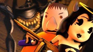[SFM/BatIM] Ink Bendy vs Bully & Alice Angel (BaTIM Animation)