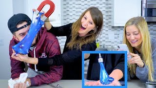 MAGNETIC SLIME! 🔹 Does it work??