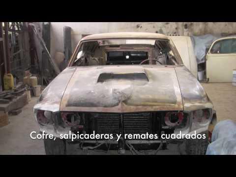 Restauración Mustang Boss 69