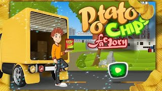 Potato Chips Factory – Chef Kids Fun Studio Android İos Free Game GAMEPLAY VİDEO