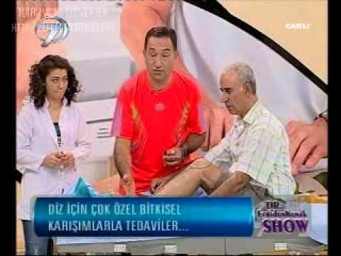 Dr. Feridun Kunak Show 5 Eylül B6 Diz Ağrıları ve Şişmeleri için Masaj ve Tedaviler
