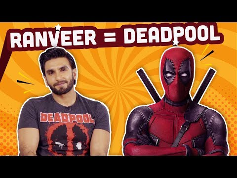Xxx Mp4 Ranveer Singh Reveals His Indian Superhero Name And Superpower Deadpool 2 Bollywood Pinkvilla 3gp Sex