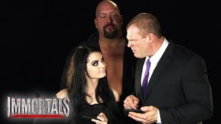 Big Show, Kane and Paige compete in