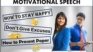 Motivational Speech By CA Swapnil Patni & CA Ankita Patni