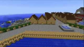 Part 4 ------  Minecraft: Castle 2N and Small Village ( SogellegoS Engineering )