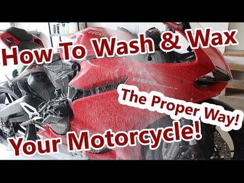 Xxx Mp4 How To Wash Wax Your Motorcycle 3gp Sex