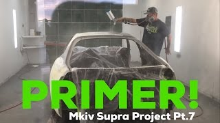 Pt.7 MKIV Supra Project! | PRIMER! | Why is it taking so long!?