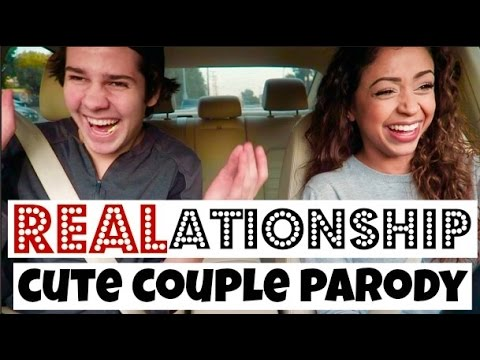 (REAL)ATIONSHIP: CUTE COUPLE PARODY w/ David Dobrik   Lizzza