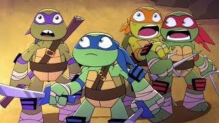 Teenage Mutant Ninja Turtles - Half Shell Heroes Blast to the Past - Cartoon Games TMNT 2016 HD