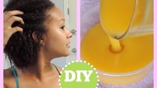 ♡DIY : masque définisseur de boucles //cheveux secs♡