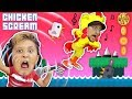 CHICKEN SCREAM! TRY NOT TO LAUGH FGTEEV ers! Super Funny Amazing Game - Music & Whisper Challenge video download