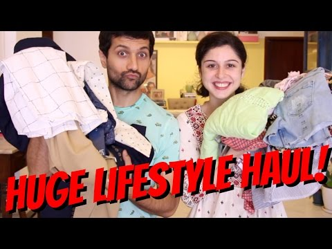 Huge Lifestyle Haul!!! 👔👗