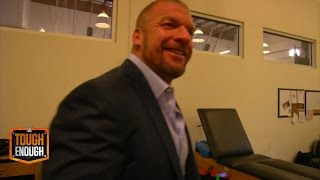 Triple H walks in on a horrible surprise - WWE #ToughEnough