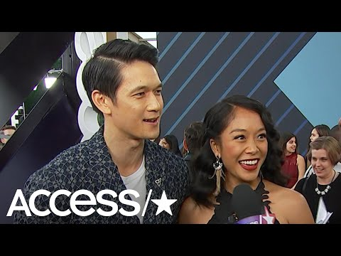 Xxx Mp4 Harry Shum Jr Amp His Wife Dish About Their Pregnancy At The People 39 S Choice Awards Access 3gp Sex