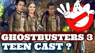 New Ghostbusters Will Be TEENAGERS?? (Ghostbusters 3 2020)