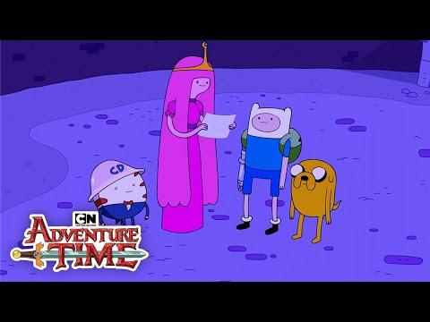 Adventure Time History of the Gum War Cartoon Network
