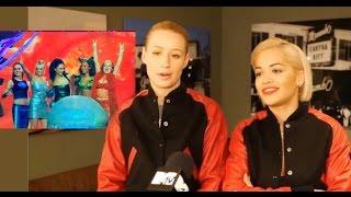 Rita Ora and Iggy Azalea  talks about spice girls