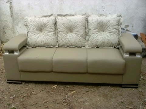 fazendo sofá com madeira de pallet parte 1 montagem do grande