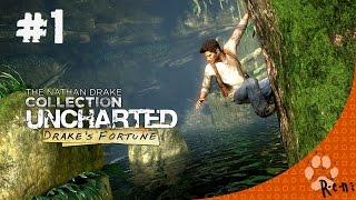 Uncharted: Drake's Fortune (PS4) CZ Let's Play #1  R-e-n  (začíná eldorádo ;-) )
