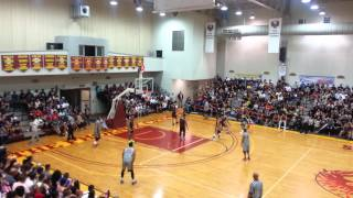 JR Smith and Gerald Green Game on Guam 2nd Qtr