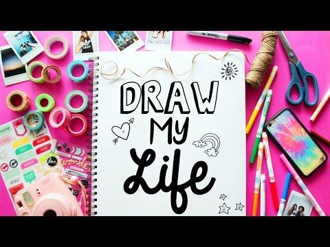 DRAW MY LIFE LaurDIY