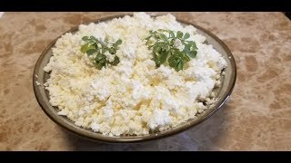 How to make cheese with yogurt/ከእርጎ የተሰራ ቆንጆ እና ቀላል አይብ።