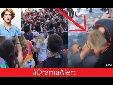 Logan Paul TACKLED by Security @Vidcon #DramaAlert RiceGum Kicked from Vidcon! FaZe Rug!