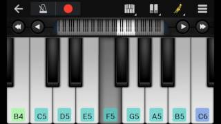 luliya mangele luliya ka mangele on piano keyboard Pawan Singh song