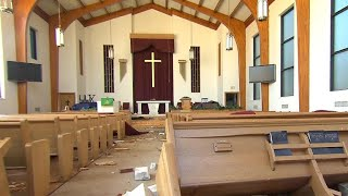 Pastor Blount on opening his church as shelter during Hurricane Michael