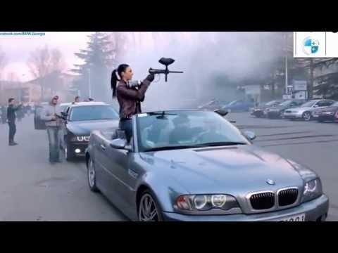 Bmw niszczy zlot Audi BMW У� ичтожил Audii