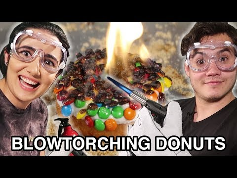 We Tried Blowtorching Donuts Homemade & Store Bought