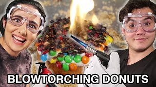 We Tried Blowtorching Donuts (Homemade & Store-Bought)