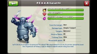 Clash Of Clans All Troops(high level)