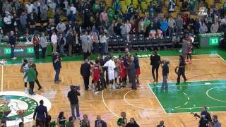 John Wall and Jae Crowder READY TO FIGHT after game!! | Celtics vs Wizards (01/11/2017)