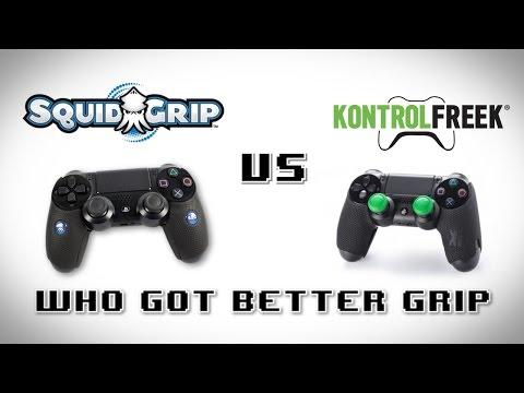 Squid Grip vs Kontrol Freek Grip [PS4]