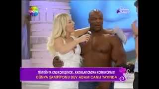 Ronnie Coleman & Sexy blonde [HOT]