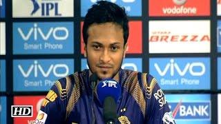 IPL9 KKR vs RCB : On The Loss: Shakib Al Hasan