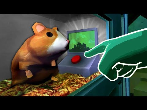THE SECRET HAMSTER BUTTON Please Don t Touch Anything 3D VR