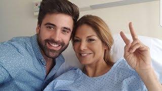 Ivonne Reyes ingresada en el hospital