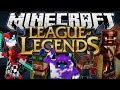 Minecraft league of legends champions weapons magic more mod showcase