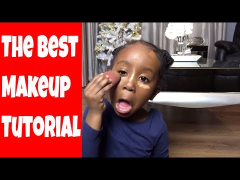 4 year old makeup tutorial obviously just for fun