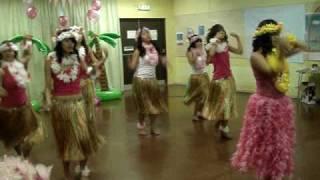 Hawaiian Dance Berna's friends