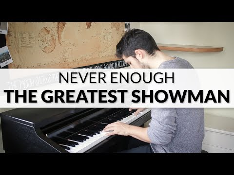 The Greatest Showman - Never Enough (Lauren Allred) | Piano Cover