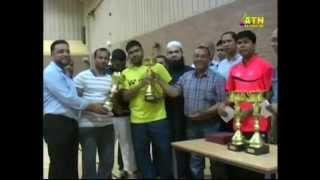 Coventry Community Badminton Tournament 2014 news report on ATN Bangla UK by Raihan