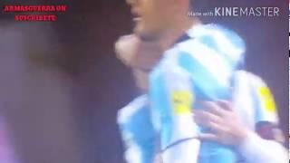 Celebración de Argentina por la clasificación para el Mundial de Rusia 2018
